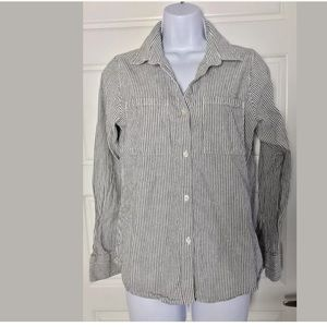 Rails striped button down shirt